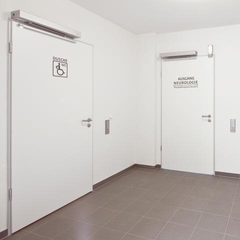 Автоматический привод распашных дверей DORMA ED-100 для инвалидов